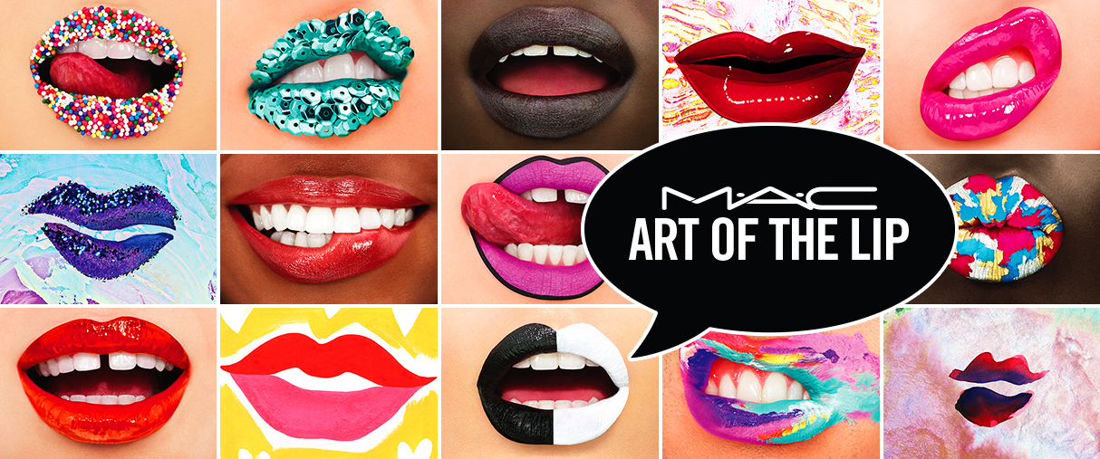THE ART OF LIP MAC EURALILLE